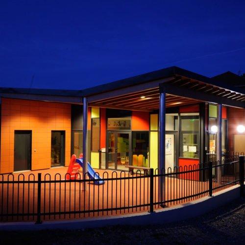 Construction d'une crèche BBC-Mornant-Atelier Rivat