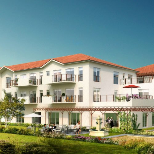 Résidence Séniors de 104 logements-Saint-Just-Saint-Rambert-Atelier Rivat