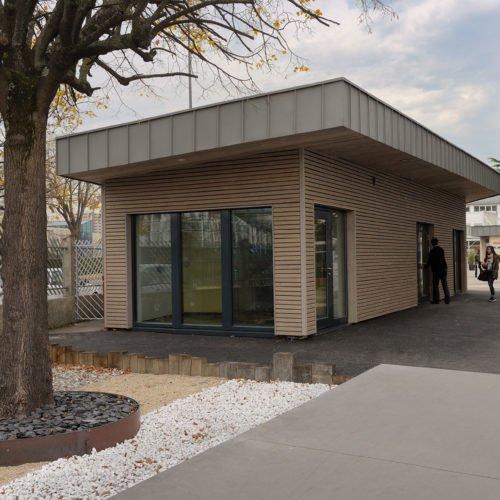 Réhabilitation et mise en accessibilité du Lycée le Marais Ste Thérèse-batiment passif Saint-Etienne Atelier Rivat