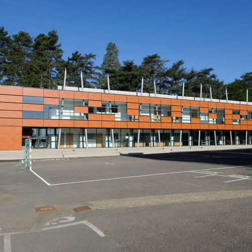 Réhabilitation de la demi pension du Collège P. et M. Curie-La Talaudière-Atelier Rivat