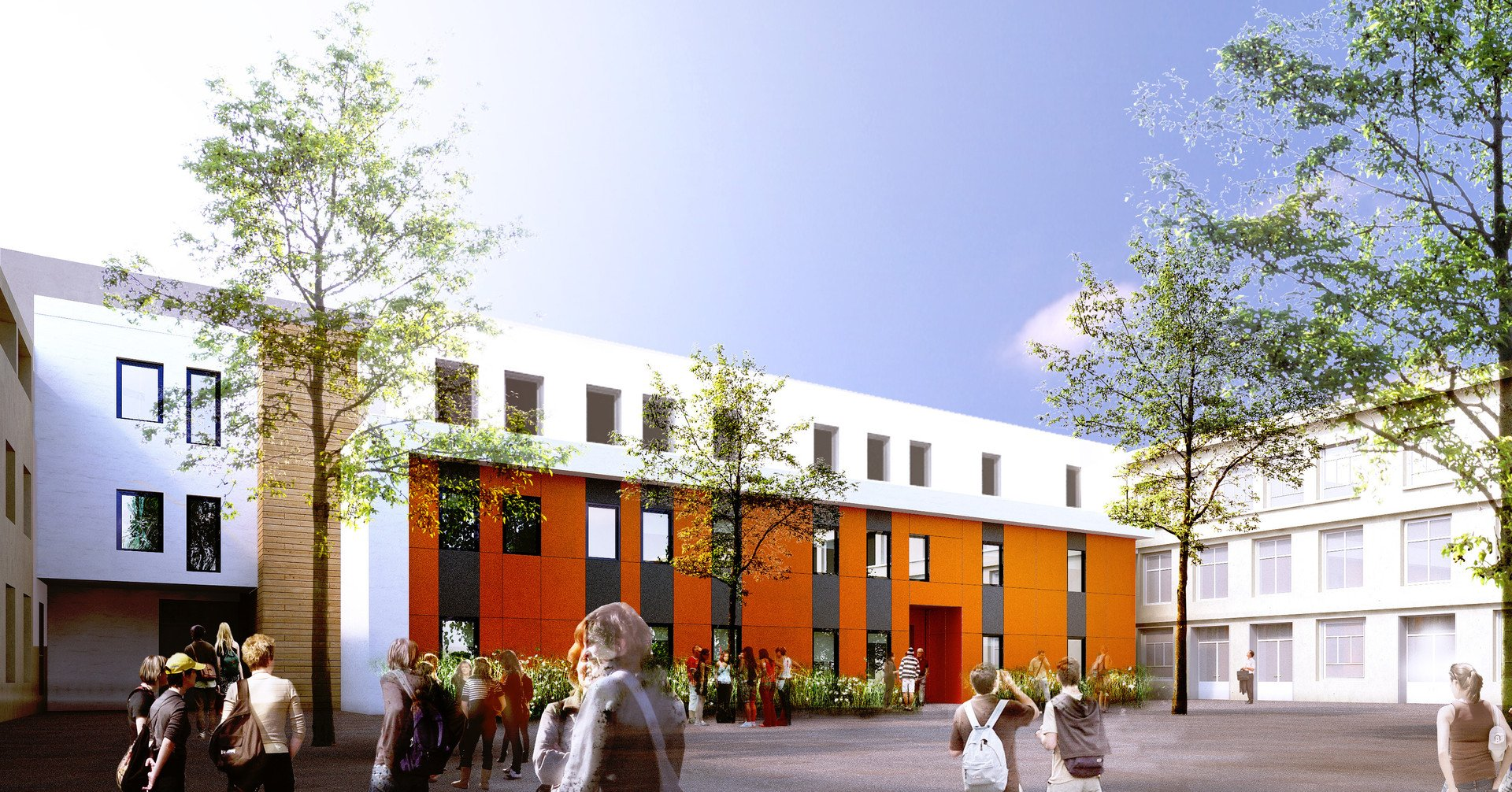 Atelier Rivat -Réhabilitation et création du campus Universitaire Sévigné