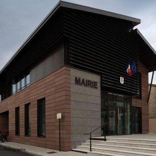 Atelier Rivat - Reconstruction de la mairie de Saint-Héand