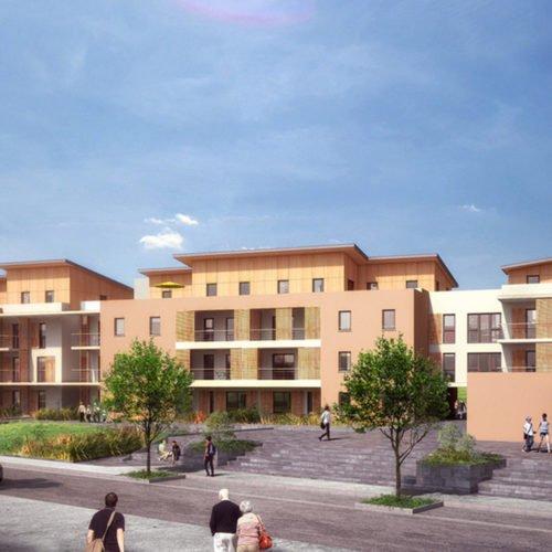 Atelier Rivat - les Terrasses d'Andrézieux # Construction de 85 logements