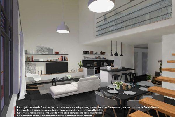 Atelier d'architecture RIVAT - Les jardins Clemenceau - Passive house