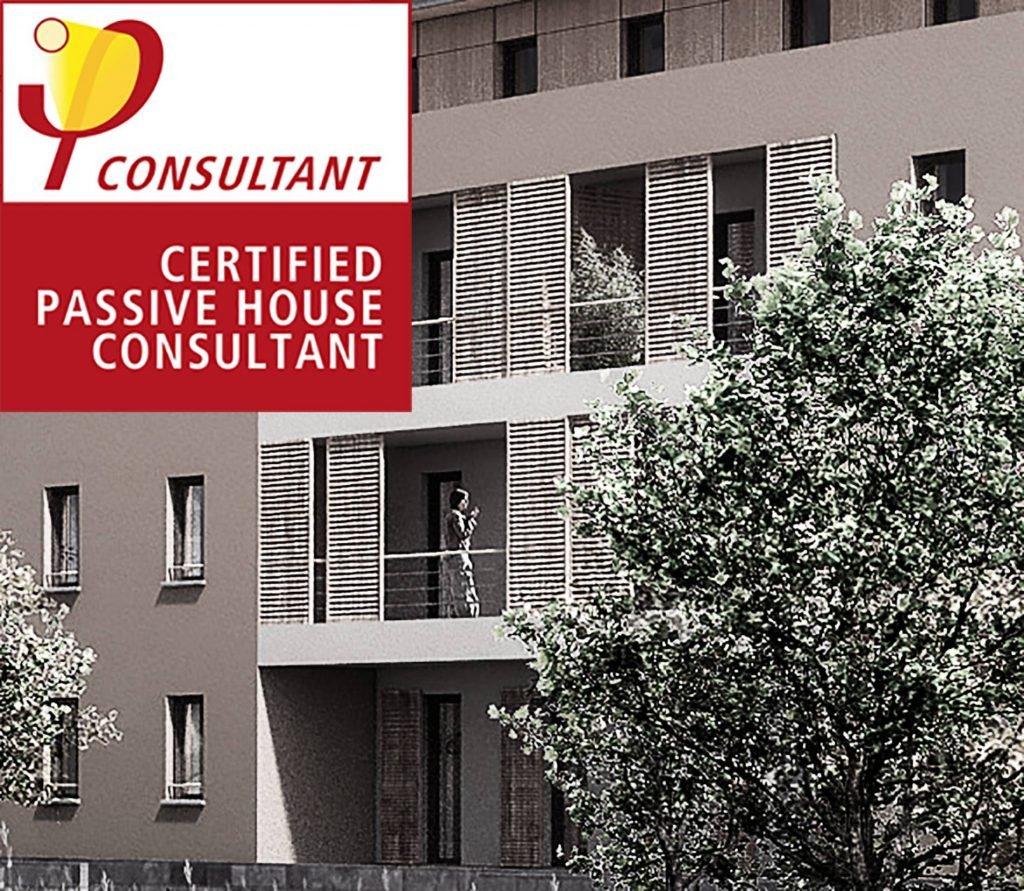 Lauréat du concours lancé par Vilogia pour la construction de 22 logement certifié Passivhaus à Vénissieux.
