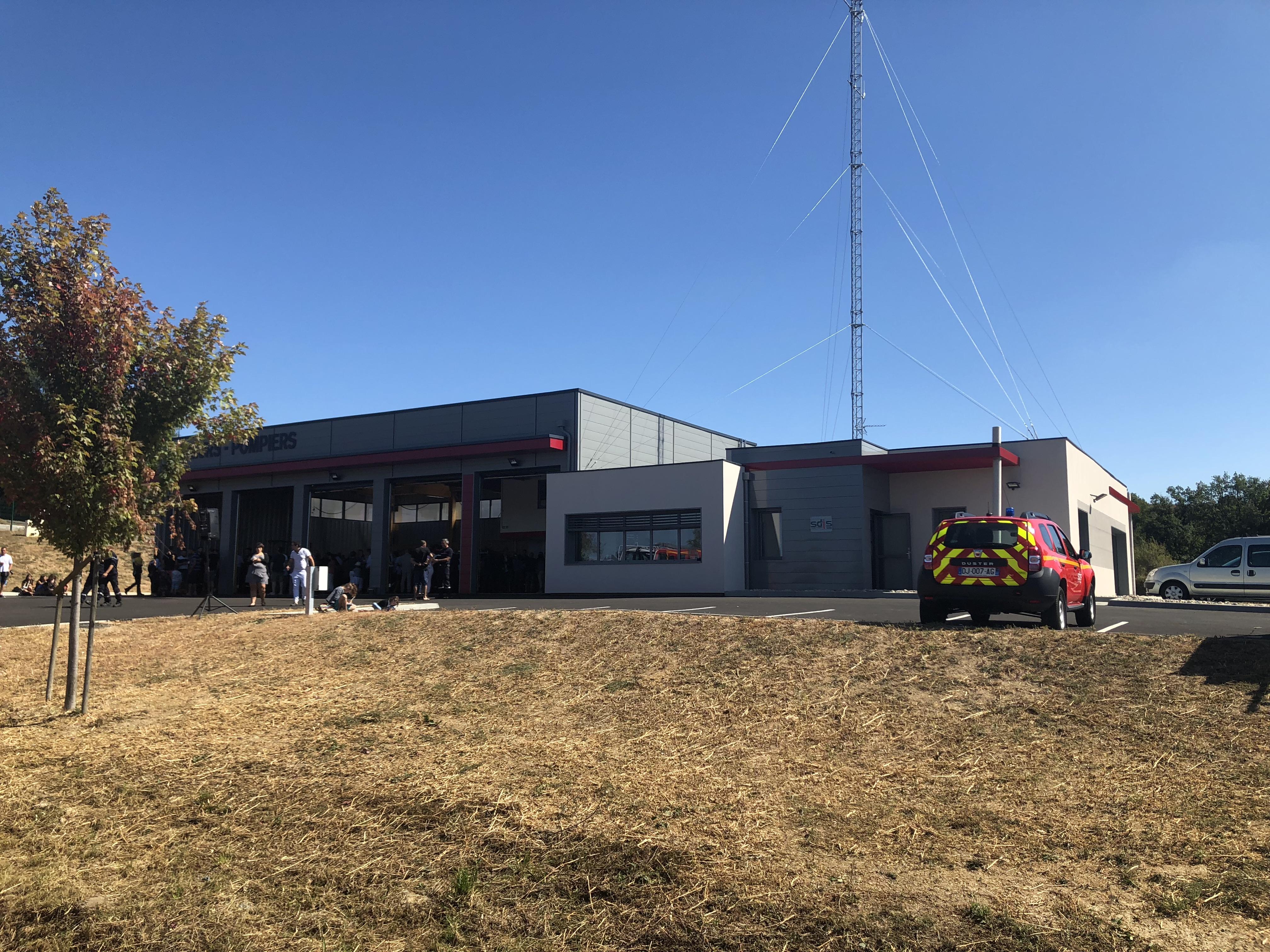 Une nouvelle caserne pour les sapeurs-pompiers de Neulise