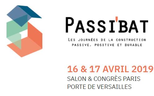 Passibat 2019: venez assister à nos conférences sur nos projets passifs