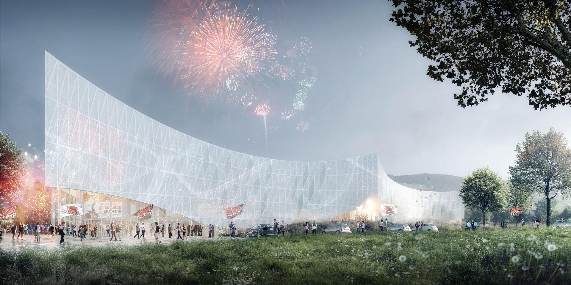 CONCOURS : Palais des Sports à Saint-Chamond