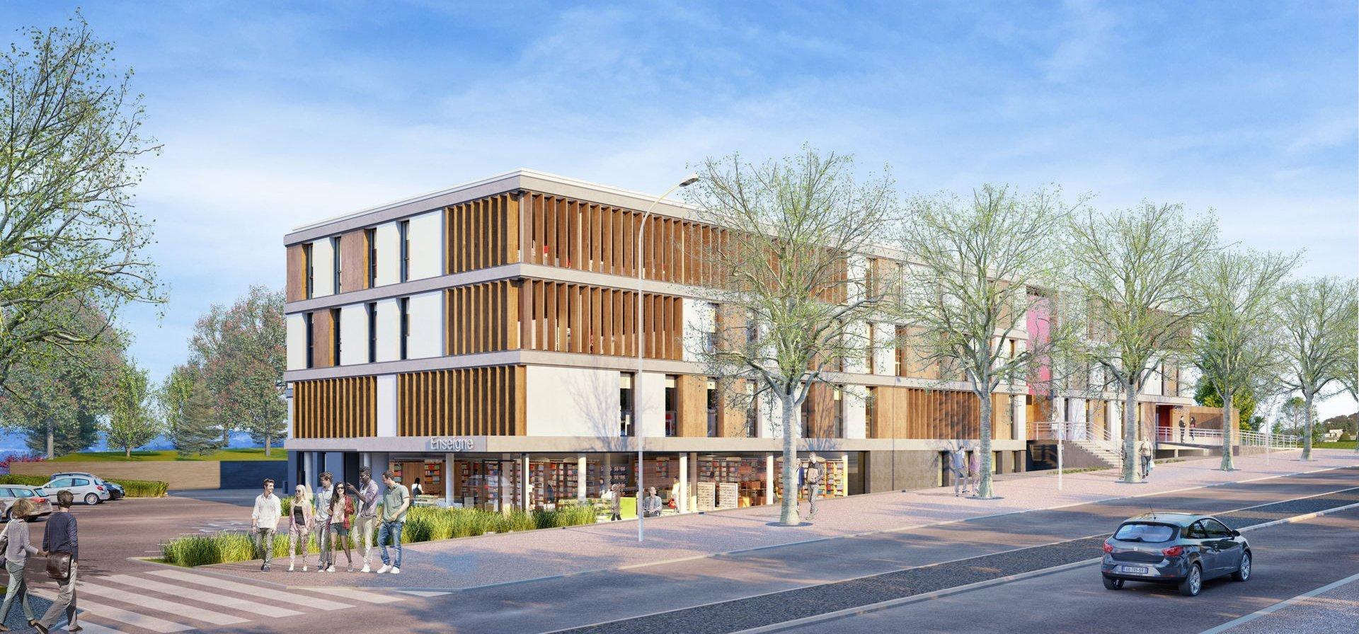 ARTICLE INOVY : Le Canopé, un nouvel immeuble d'activités dans l'agglomération de Saint-Etienne