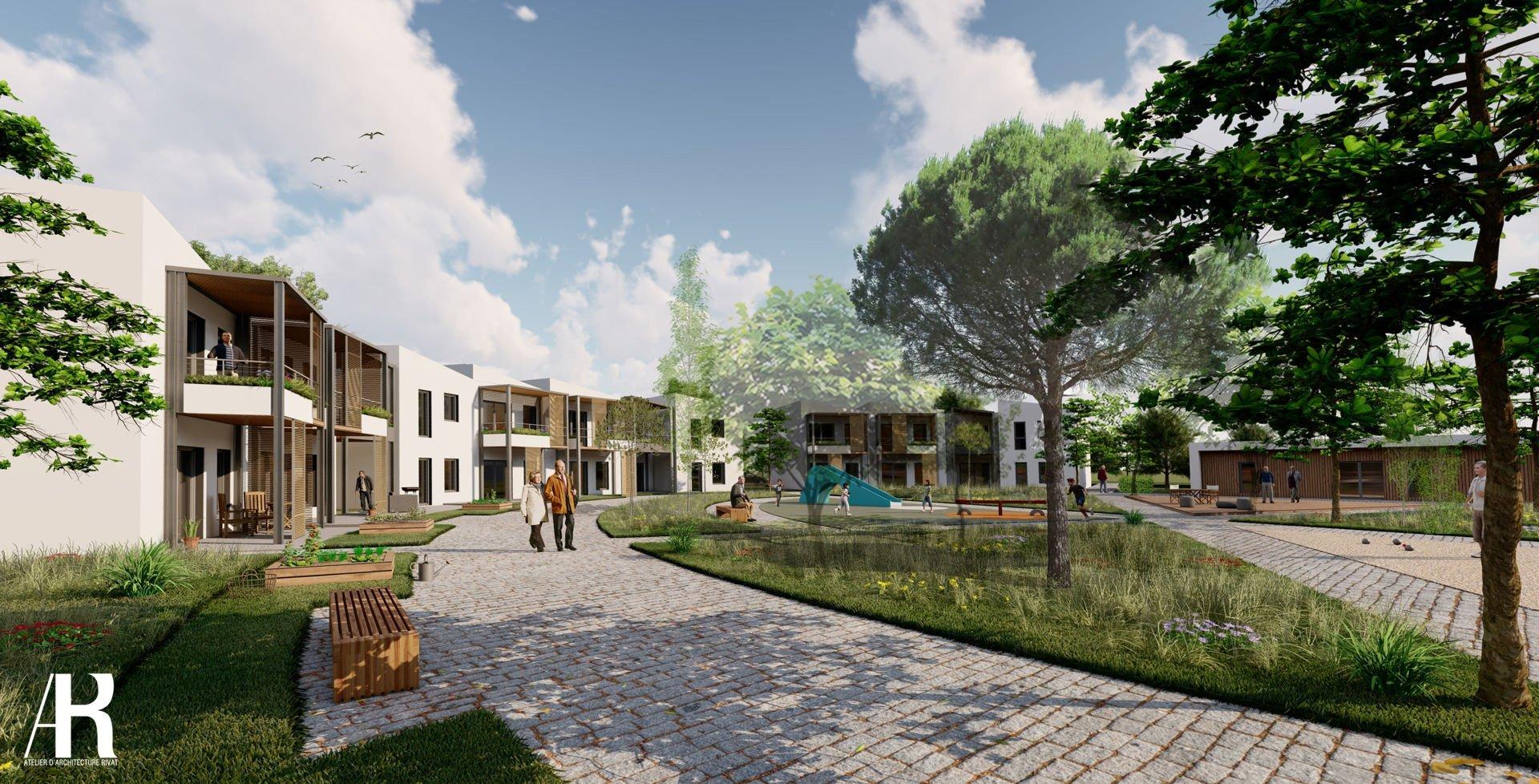ARTICLE LE PROGRES : Une résidence seniors nouvelle génération sera construite à Saint-Galmier