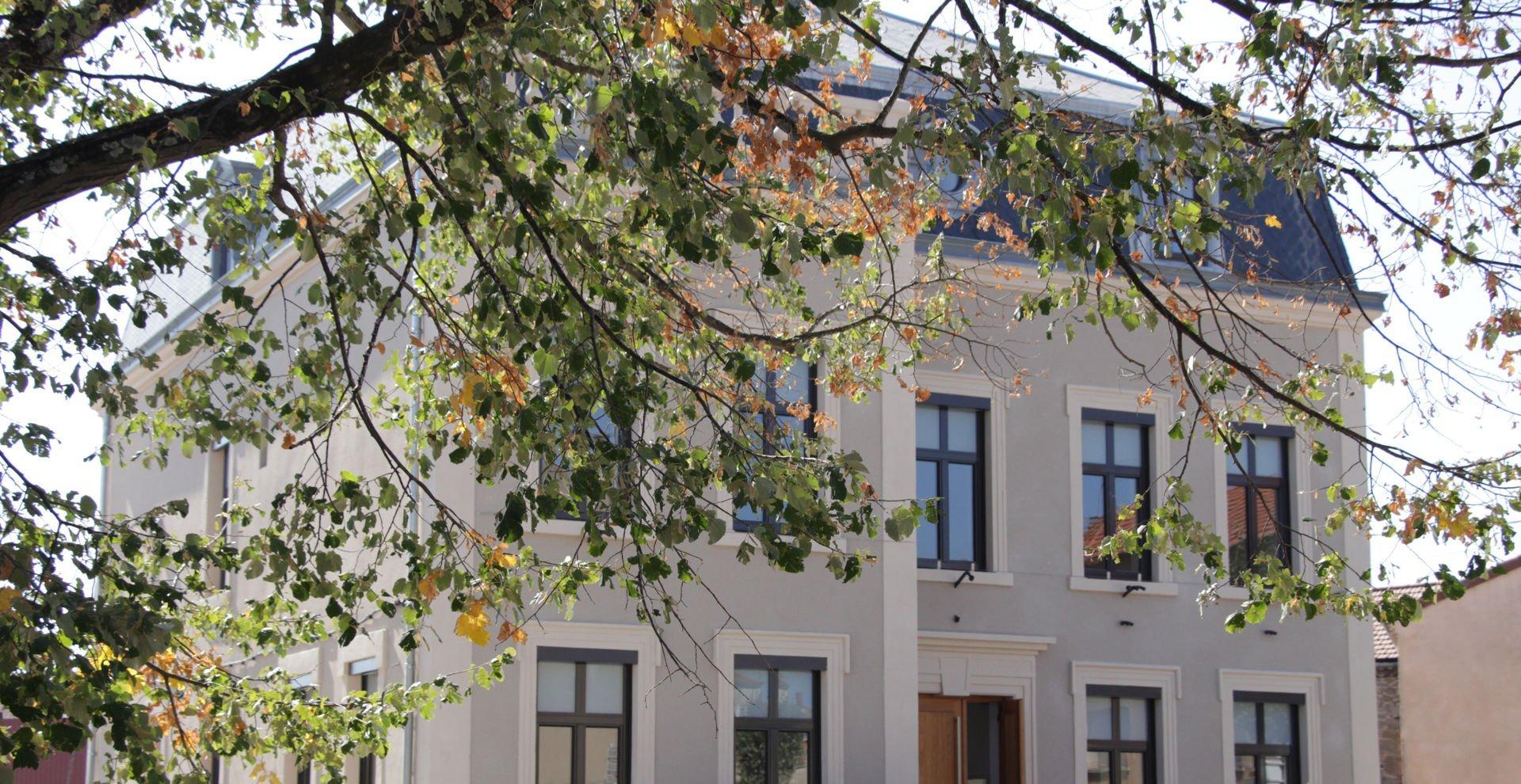 Inauguration du projet de réhabilitation de la Mairie de Vernoux-en-Vivarais (Ardèche – 07) ce samedi 21 septembre