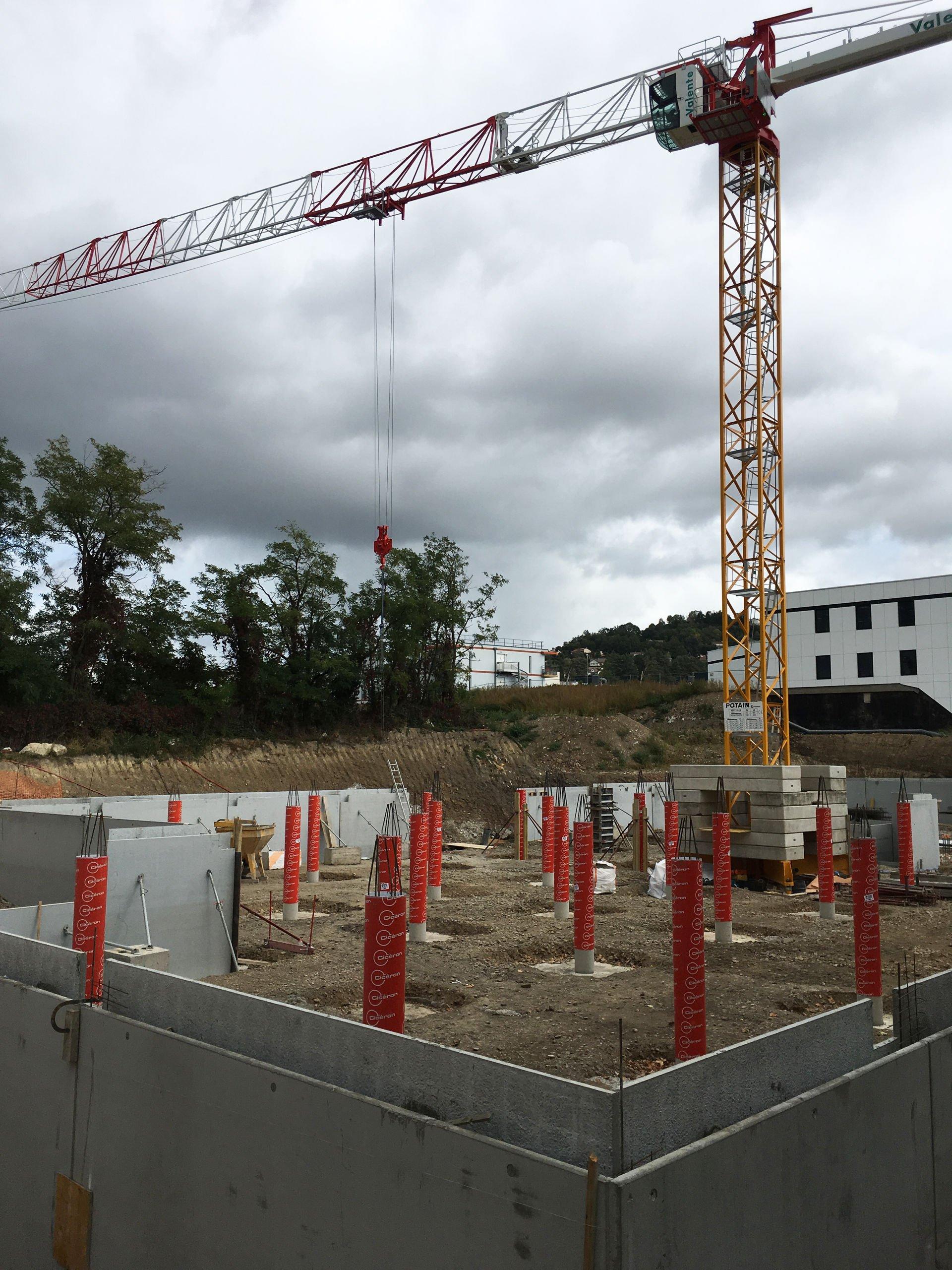 LE CANOPE : Le chantier commence à prendre forme !