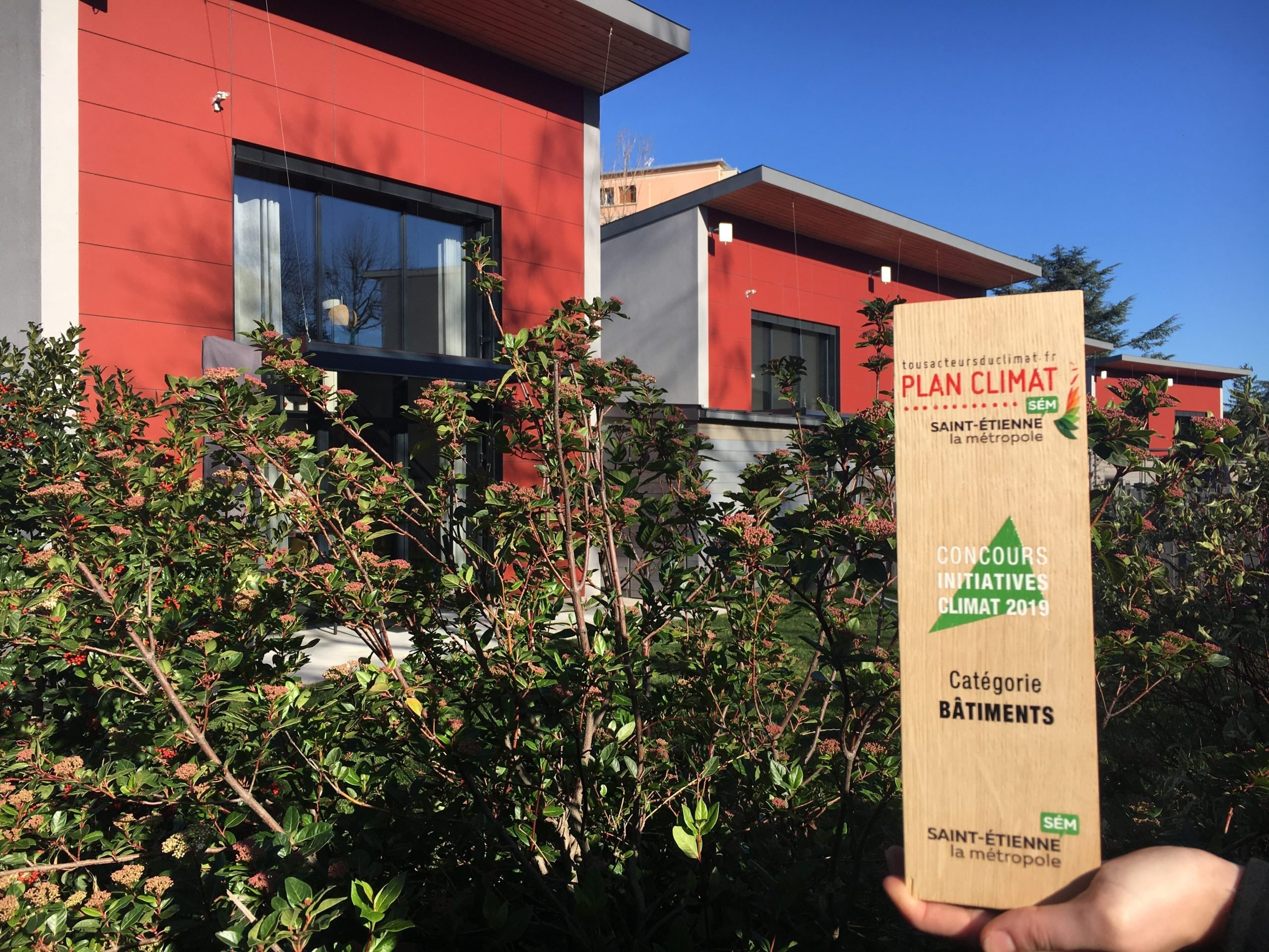 LE CONCOURS DES INITIATIVES : Remise du prix du Plan climat par Saint-Etienne Métropole