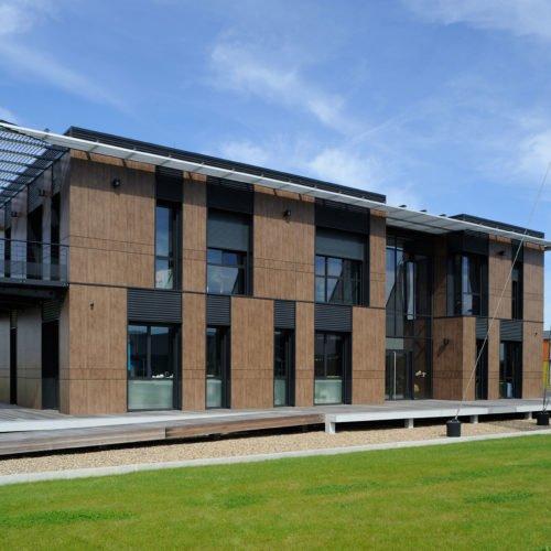 Atelier Rivat - Construction d'un laboratoire et de bureaux BBC