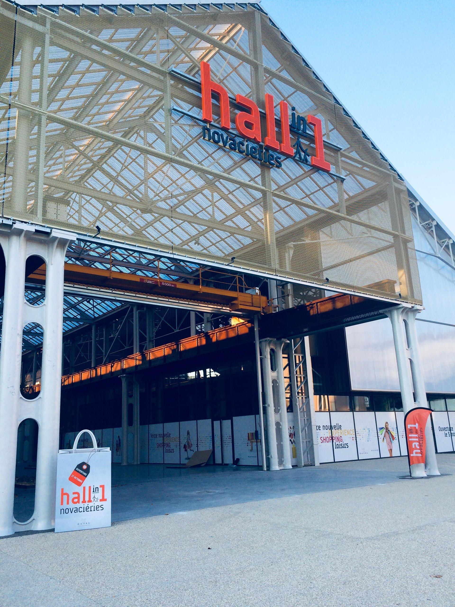 Hall in One a ouvert ses portes mercredi 17 Octobre sur le site de Novacieries à Saint Chamond.