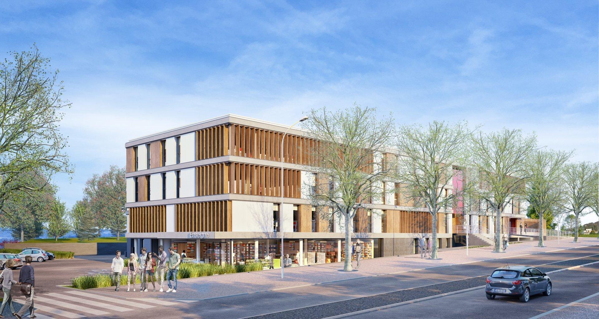 Saint-Priest-en-Jarez: plus de 8000 m2 de nouveaux bureaux en face de l'hôpital Nord.