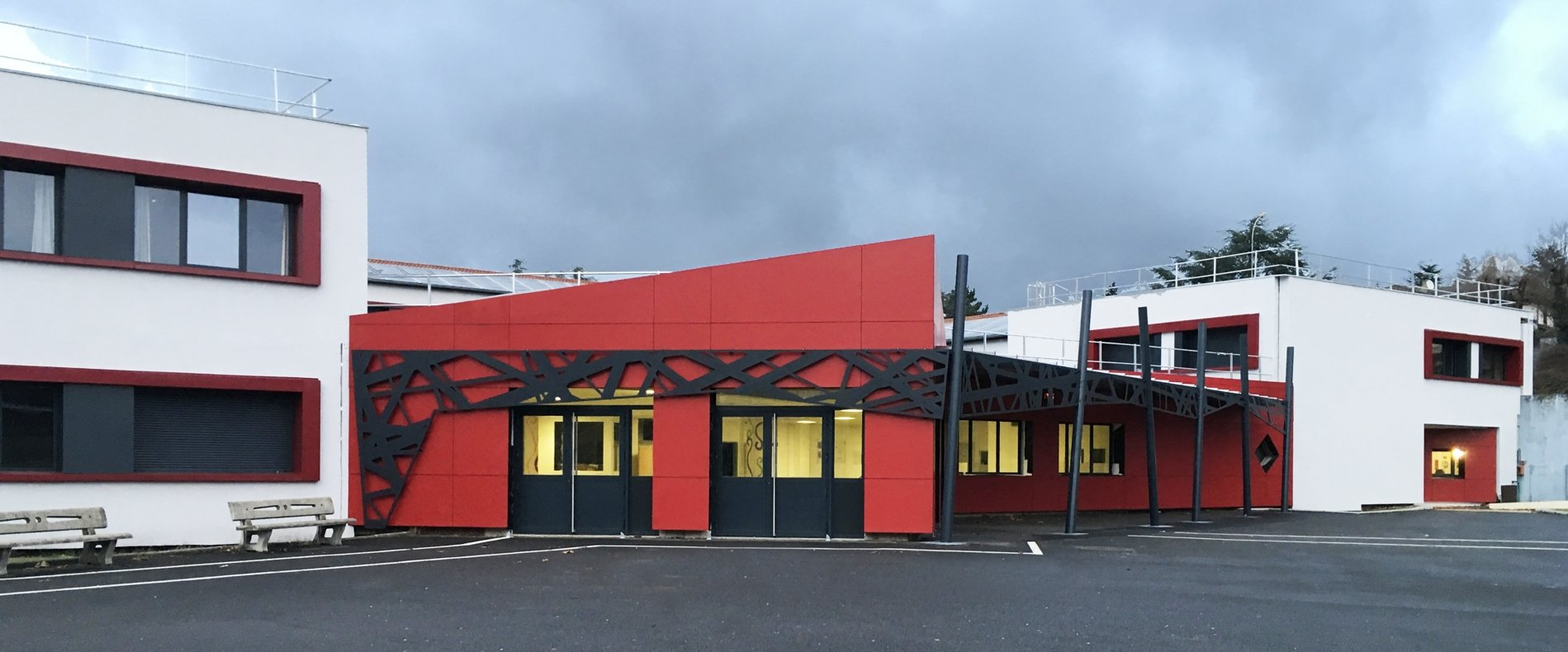 ACTUALITE : La réhabilitation thermique du Lycée Simone WEIL