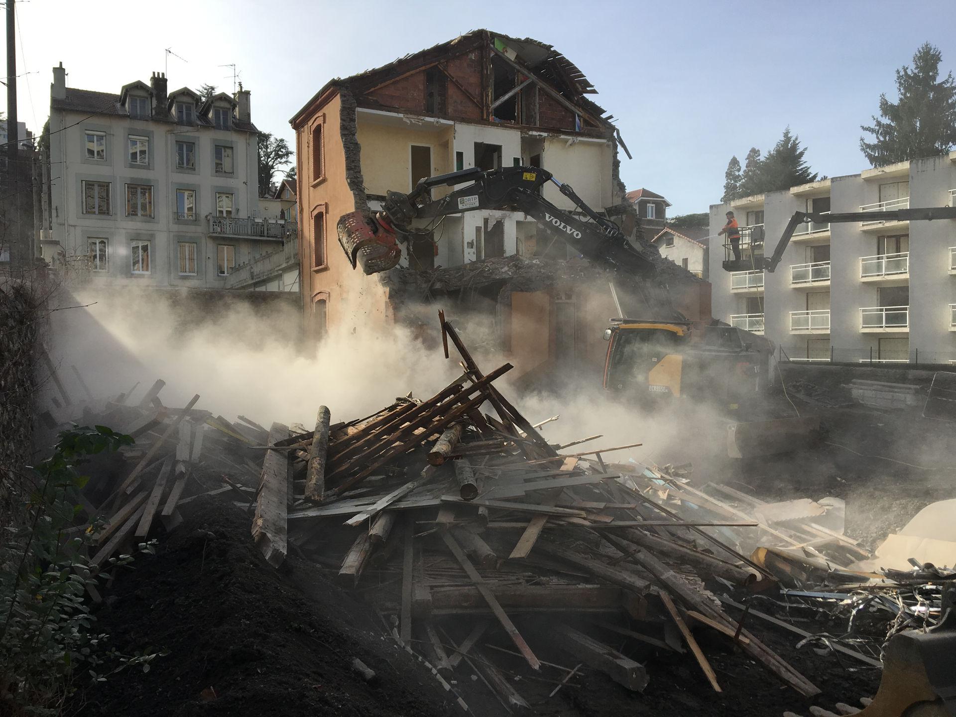 PROJET L'OBSIDIENNE / 37 Logements à Saint-Etienne : Démarrage des travaux
