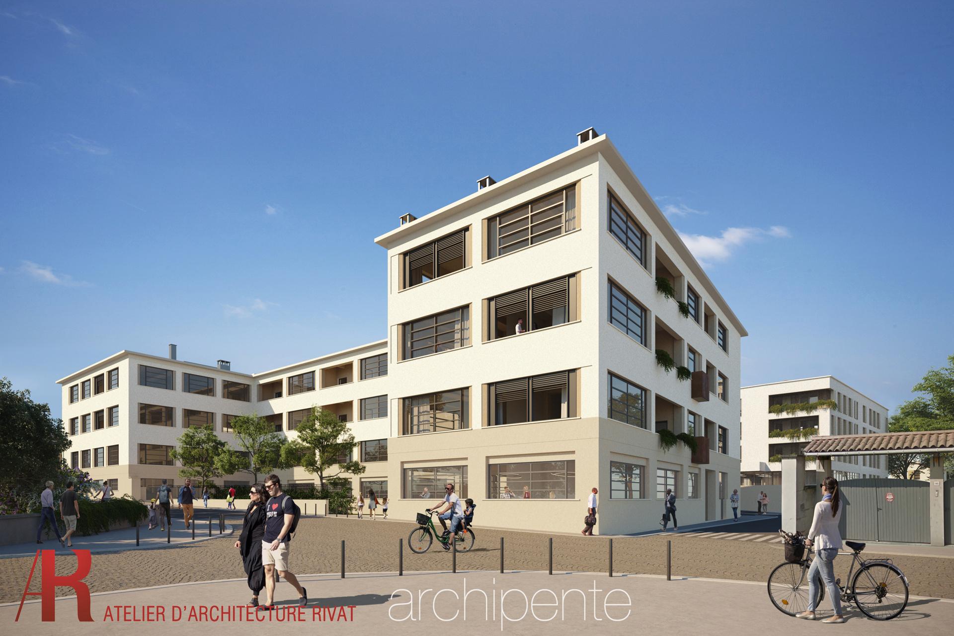 LAUREAT : SITE GEGE- Quartier MOINGT à Montbrison (42)