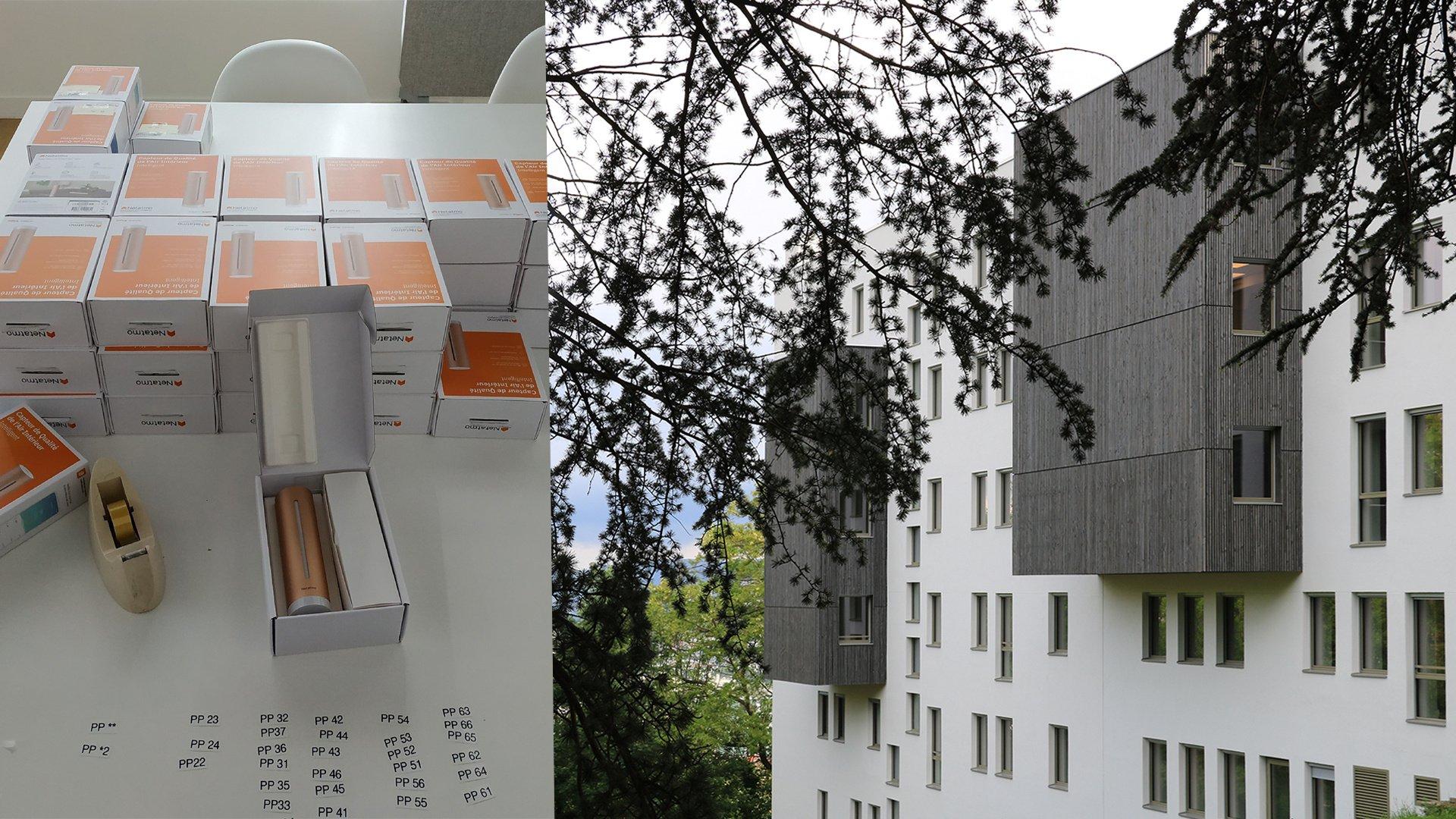 NOUVEAUTE : R&D – Instrumentation de l'immeuble de bureaux Paul PETIT