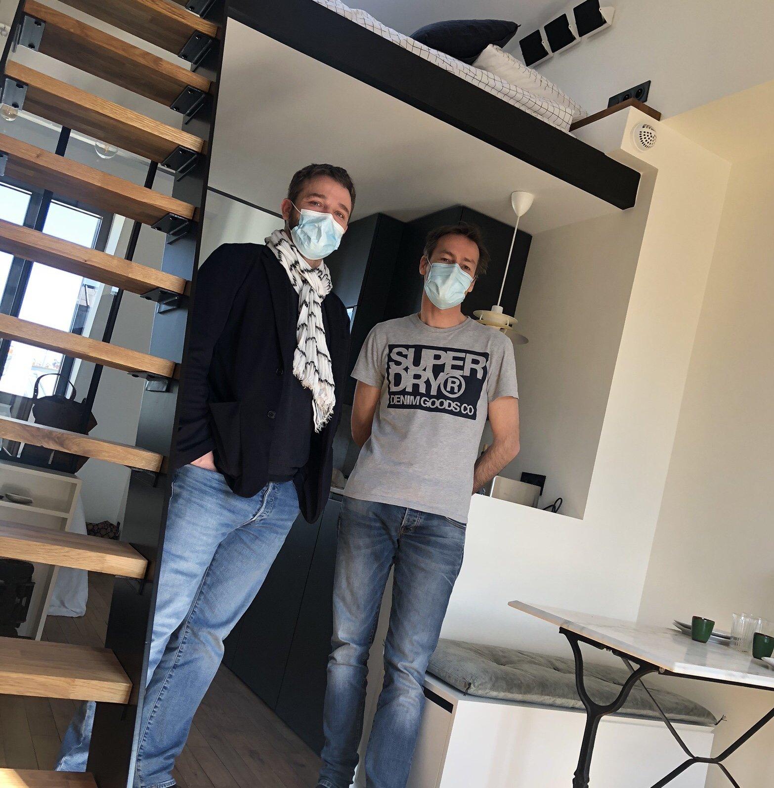 ENERPHIT : Visite de SOLARES BAUEN au sein de nos locaux parisiens